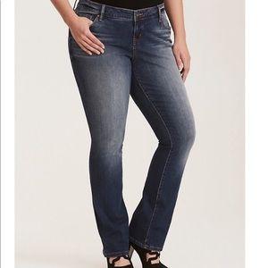 Torrid Premium Barely Boot Jeans 20R